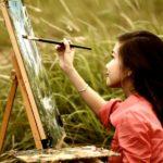 Orang melukis