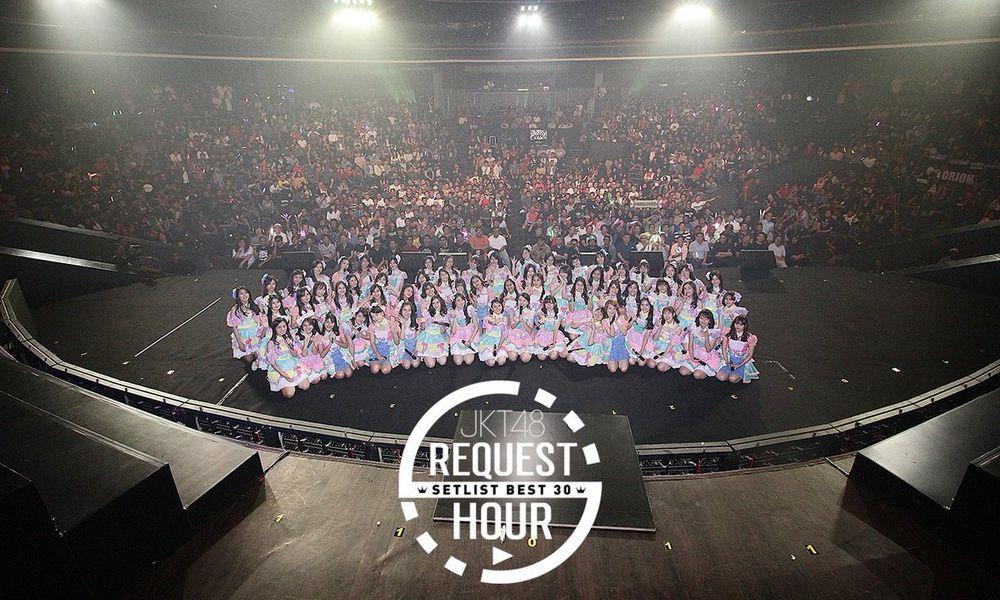 Canda Tawa Bahagia dan Tangis Haru Mewarnai Konser Request Hour JKT48 2017