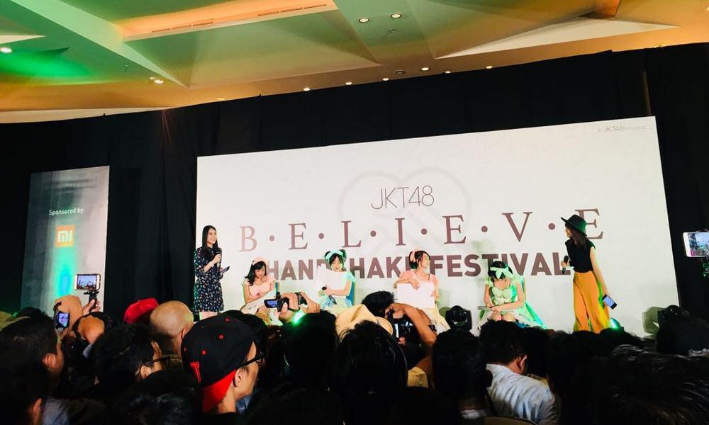 JKT48 Believe Handshake Festival Berlangsung cukup Seru dan Meriah